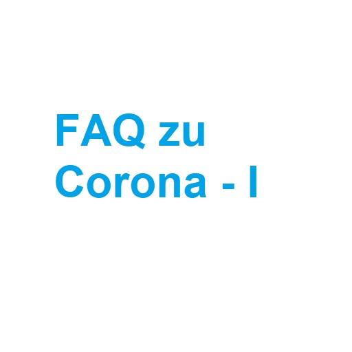 FAQ zu Corona – I  Noten