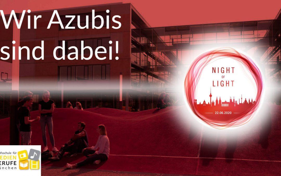 Night of Light – wir sind auch dabei