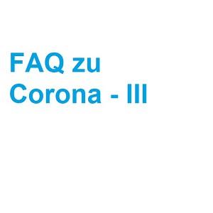 FAQ zu Corona III – mündliche Prüfungen