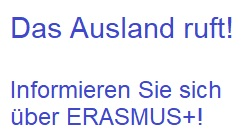 Auslandspraktikum mit ERASMUS+?